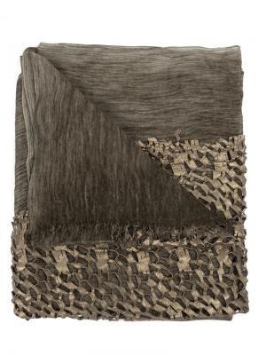 Шарф Ziri Cutuli Cult. Цвет: коричневый