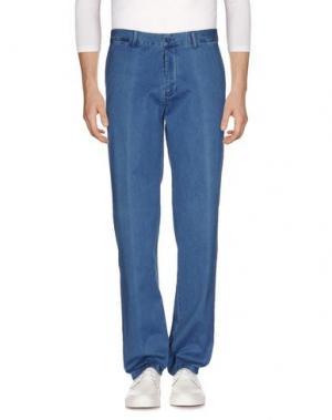 Джинсовые брюки FORECAST. Цвет: синий
