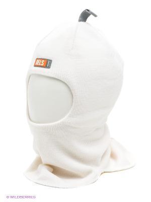 Шапка-шлем NELS. Цвет: молочный