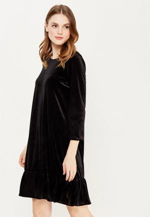 Платье Numph. Цвет: черный