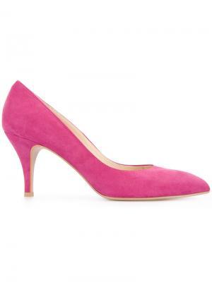 Туфли на шпильке Estnation. Цвет: розовый и фиолетовый