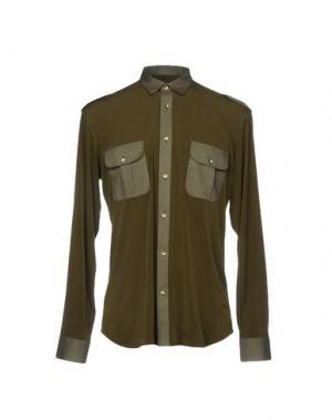 Pубашка TAKESHY KUROSAWA. Цвет: зеленый-милитари