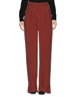 Повседневные брюки SPORTMAX. Цвет: красно-коричневый
