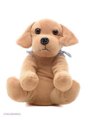 Игрушка-грелка Собачка Альфи Warmies. Цвет: коричневый