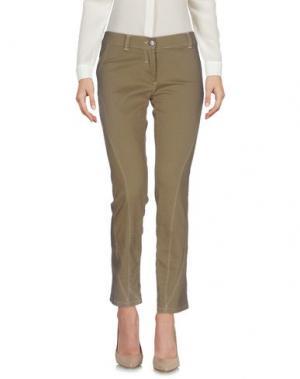 Повседневные брюки CANADIENS. Цвет: хаки