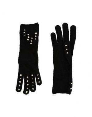 Перчатки ALAÏA. Цвет: черный