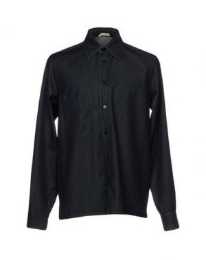 Джинсовая рубашка MARNI. Цвет: синий