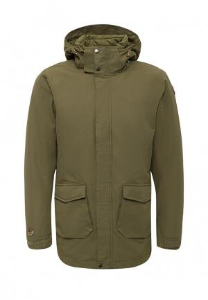 Куртка утепленная Icepeak. Цвет: хаки