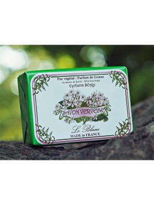 Косметическое мыло в картонной коробке Вербена 100гр. Le Blanc.. Цвет: зеленый