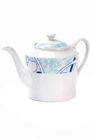 Чайник BLEU SKY 1,2 л La Rose des Sables. Цвет: белый, синий