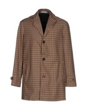 Легкое пальто AGLINI. Цвет: песочный
