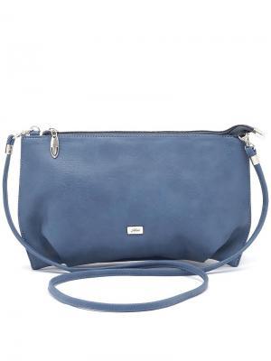 Сумка Solo true bags. Цвет: серо-голубой