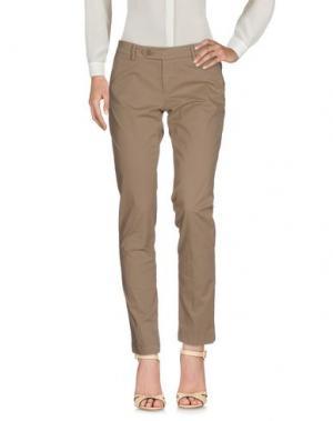 Повседневные брюки ROŸ ROGER'S. Цвет: верблюжий