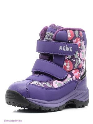 Ботинки REIKE. Цвет: сиреневый