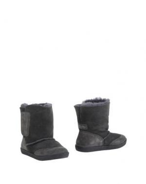 Полусапоги и высокие ботинки FALCOTTO. Цвет: свинцово-серый