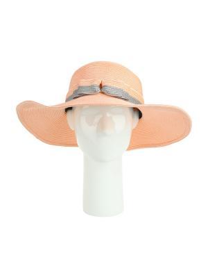 Шляпа Moltini. Цвет: персиковый