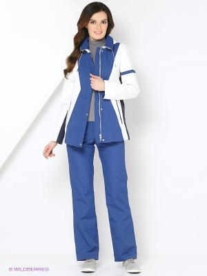 Спортивный костюм KARINA Maritta. Цвет: темно-синий, темно-серый, темно-фиолетовый