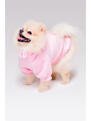 Толстовка для собак Hoodie Woodie. Цвет: розовый