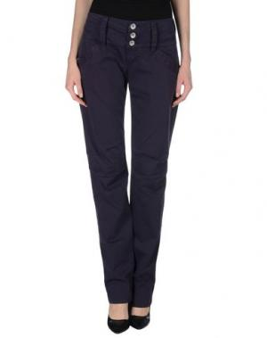 Повседневные брюки NOLITA DE NIMES. Цвет: фиолетовый