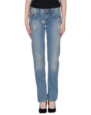 Джинсовые брюки SWEET YEARS. Цвет: синий