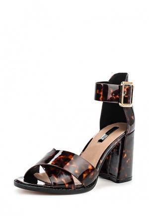 Туфли LOST INK. Цвет: коричневый