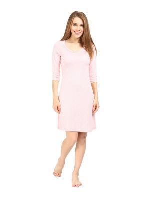 Ночная сорочка MARIPOSA. Цвет: розовый