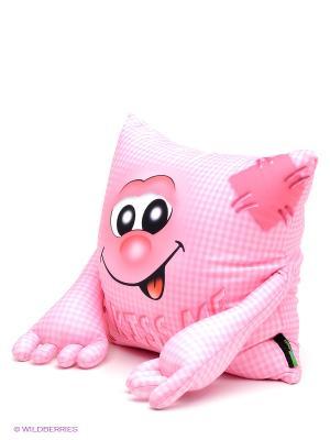 Подушка MAXITOYS. Цвет: розовый