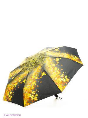 Зонт Zest. Цвет: черный, желтый