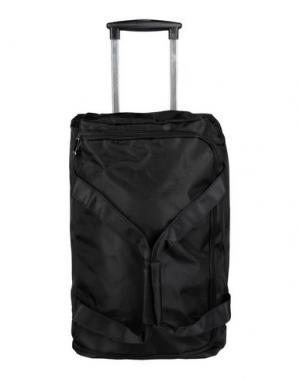 Чемодан/сумка на колесиках MH WAY. Цвет: черный