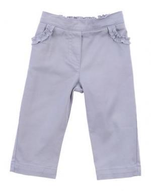 Повседневные брюки LILI GAUFRETTE. Цвет: светло-серый