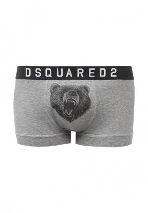 Трусы Dsquared Underwear. Цвет: серый