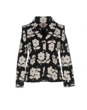 Пиджак ORLA KIELY. Цвет: черный