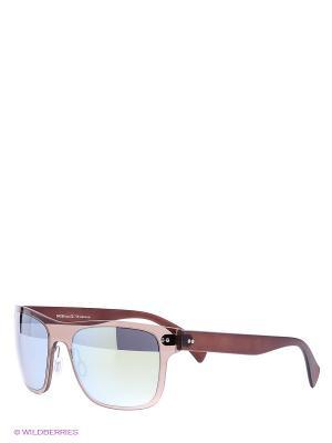 Солнцезащитные очки Vittorio Richi. Цвет: коричневый