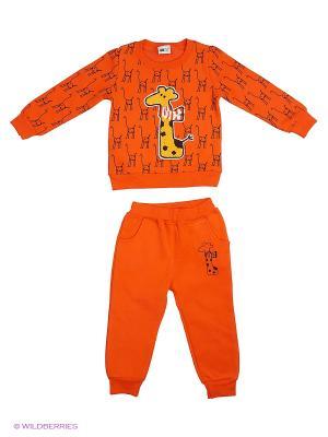 Комплект Sago Kids i Ant Domain. Цвет: оранжевый