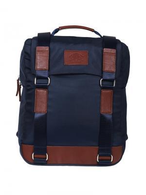 Рюкзак Sport College-1 39*30*13см, 1 отделение, 2 кармана, отд. для ноутбука, эргономичная спинка Berlingo. Цвет: синий, коричневый