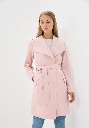 Плащ Vero Moda. Цвет: розовый