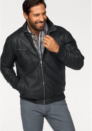 Куртка MANS WORLD MAN'S. Цвет: черный
