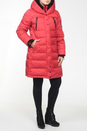 Пальто Mirage-mv. Цвет: красный