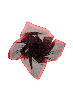 Платок Gusachi. Цвет: черный, красный