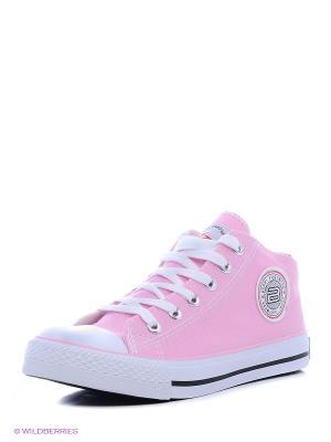 Кеды Beppi. Цвет: розовый