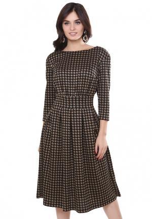 Платье Olivegrey. Цвет: золотой