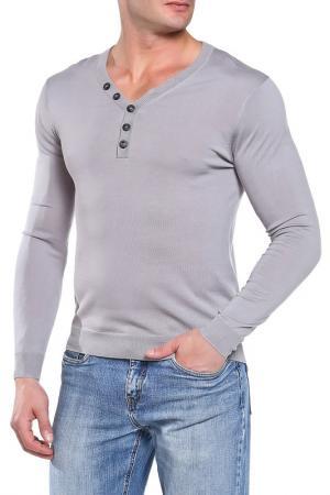 Пуловер Daniele Alessandrini. Цвет: серый