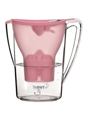 Кувшин Пингвин BWT розовый пунш. Цвет: розовый