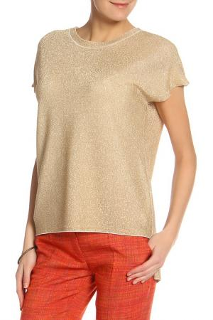 Блуза BGN. Цвет: желтый