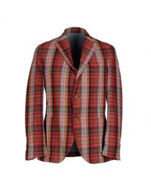 Пиджак MONTEDORO. Цвет: красный