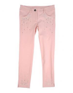 Повседневные брюки MISS GRANT. Цвет: розовый