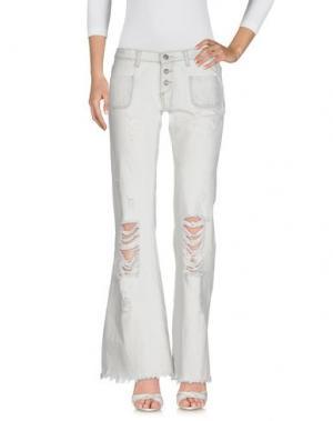 Джинсовые брюки VICOLO. Цвет: синий