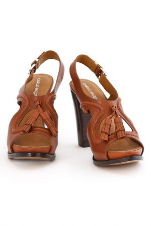 Туфли CARLO PAZOLINI. Цвет: коричневый
