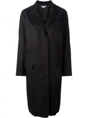 Легкое пальто свободного кроя Opening Ceremony. Цвет: чёрный