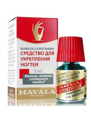 Средство для укрепления ногтей Сайнтифик/Scientifique 5ml Mavala. Цвет: синий